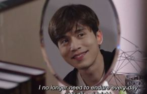 bubblegum 14, ri hwan is happy